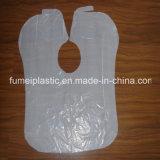 100% virgen PE Maiterial delantales de plástico de cocina