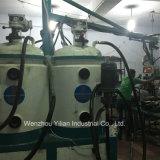 Basse pression de type banane pu verser de la machine pour la fabrication de chaussures