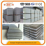 Material de EPS máquina de hacer el fabricante de panel sándwich ligero Panel de pared de cemento de la máquina