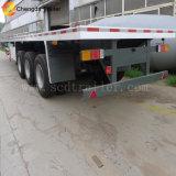 Del contenitore rimorchio semi, 3 rimorchio di trasporto di contenitore della base dell'asse 40FT