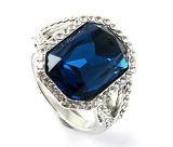 Hermosa R10575 anillo de la joyería Diseño fresco de la perla de plata de plata Agua