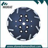 10/250 мм металлическая Бонд алмазного шлифовального круга с 16сегмента