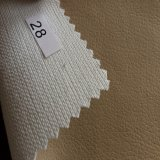 Bright Color Embossing Synthetic Ab Grade PU Leather para Sofa Stock