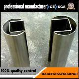 Tuyau en acier inoxydable Stel fente/tube pour la clôture de piscine