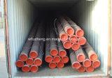 Puente de tubo de acero sin costura X52 X60 X65, la norma ASTM A106/A53 gr. B, Tubo de acero al carbono perfecta