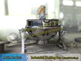 600L Chauffage au gaz en acier inoxydable / Chauffage à la vapeur / Chauffage électrique Bouilloire Jacket avec mélangeur