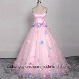 Nettes Fußboden-Langes Abschlussball-Kleid-elegantes schickes Magenschlag-Hochzeits-Kleid