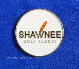 Soft su ordinazione Enamel Golf Ball Marker con Logo (GBM-10)