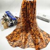 2017new écharpes colorées par soie d'impression de Degital de vol de bande de Faux du type 100%Polyester