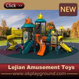 Speelplaats van de Jonge geitjes van Ce de Verbazende Openlucht Plastic voor Park (X1507-12)