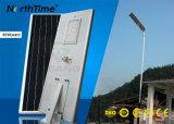 Réverbère sec à énergie solaire complet chaud de la vente 80W DEL