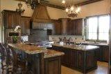Старинная кладовой кухонные шкафы/ Custormized деревянные кухонные шкафы