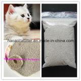 el pequeño agrupar de la litera de gato de la bentonita de la bola de 1-2m m; Sin polvo; Control del olor