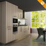 Меламина поставки Oppein мебель кухни зерна быстрого изготовленный на заказ деревянная (OP14-K010)