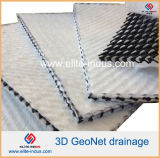 De Media Flownet van Geocomposite Geotextile In entrepot van de Drainage van 5 mm Netto