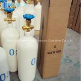 150bar Cilinder van de Zuurstof van het Staal van de hoge druk de Industriële Draagbare Naadloze