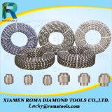 Rubber+Spring de Zaag van de Draad van de Diamant voor Concreet en Gewapend beton Knipsel