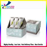 preço de fábrica feitas de papel ondulado Caixa de Exibição do Contador de cosméticos