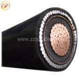 Yjv22 Yjv32 Cu/XLPE/PVC/Swa/PVC 50mm 25mm 35mm 전기선 35kv XLPE 가격 고전압 고압선