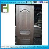 HDF en bois de placage de qualité supérieure moulé de la peau de porte