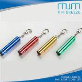 Alumínio Promoção Gift Keychain Mini LED Light