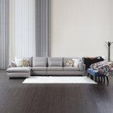 Sofà domestico del tessuto dell'angolo della mobilia per il salone