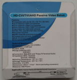 금에 의하여 도금되는 BNC (VB109pH)를 가진 연결할 수 있는 HD-Ahd/Cvi/Tvi 영상 발룬