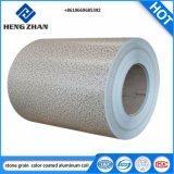 Наружные защитные элементы используются цвета из алюминия с покрытием из камня катушки зерна для производства строительных материалов