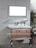 bello Governo di vanità della stanza da bagno dell'acciaio inossidabile di 100cm (LZ-1823)