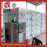 Máquina de secagem do túnel vegetal contínuo do secador do ar quente dos petiscos