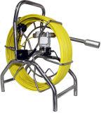 Inspeção do duto de ar vídeogravador Câmara para o esgoto debaixo de água