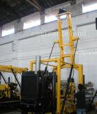Macchina geotecnica di ingegneria montata rimorchio, piattaforma di produzione del pozzo d'acqua (300m-600m)
