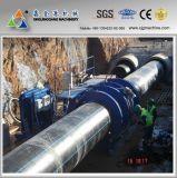 Machine à souder des tuyaux en polyéthylène haute densité