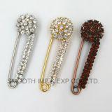 Pin шали отворотом украшения Brooches одежды Rhinestone ювелирных изделий способа