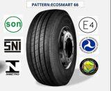 Tout l'acier des pneus radiaux Truck & Bus avec certificat de la CEE 385/55R22.5 (ECOSMART 66)