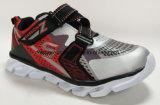 Los niños zapatos zapatillas con LED de luz de pared a los niños de calzado deportivo (607)