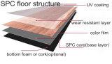 L'intérieur en plastique PVC/spc Revêtements de sol en vinyle de l'extrudeuse à des fins commerciales de la machine