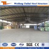 Construction de bâtiments préfabriquée de structure métallique avec l'entrepôt modulaire de bon modèle