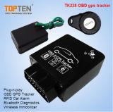 GPS Tracker van OBD Car met identiteitskaart van RFID Identify Driver, Wireless Immobilizer Stop Engine tk228-Ez