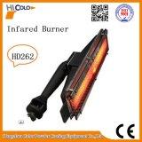 Calefator de gás infravermelho do forno do revestimento do pó