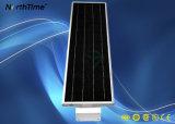réverbère actionné solaire Integrated de 20W DEL avec le détecteur de PIR