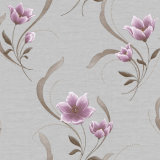 Decorative de lujo Wall Paper con Deep Embossed Floral