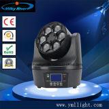 移動ヘッドライト41の6PCS*10W LEDのビームRGBW