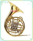 4 Ключ с двойной звуковой сигнал на французском языке ---F/Bb тон --Gold лак