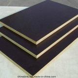 El negro de los materiales de construcción de Binlu/la película de la base del álamo de Brown hizo frente a la madera contrachapada