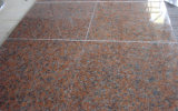 Roter Granit-Ahornholz-roter Granit-grosse Platte