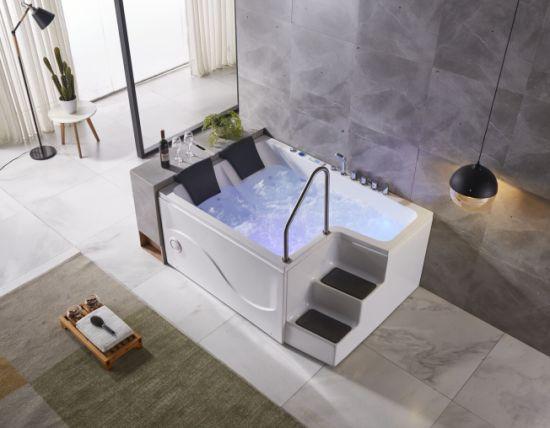 Luxury Bathtub Hot Tub Shower Combo Intex Massage Bath 2 Person China Indoor Jacuzzi Hot Tubs Freestanding Bathtub With Step China Hot Tub Whirlpool Bathtubs Made In China Com