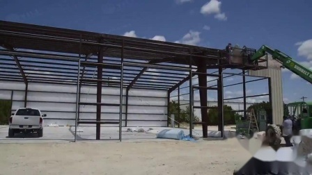 Pre Engineered Complex Metal Building With Multi Hip Roof Transitions China Warehouse Peb Steel Structure Made In China Com
