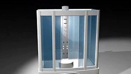China Bathroom Glass Steam Shower Room With Jacuzzi Whirlpool Gt0531 China Shower Room Steam Room