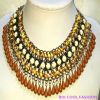 Gemstone Beaded Fashion America Hot Sale Necklace Jewelry